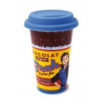 "Mug de voyage US isotherme "" Chocolat Brah "" Natives"