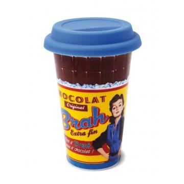 Mug US Chocolat BRAH Natives Déco rétro humoristique