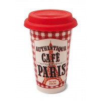 "Mug de voyage isotherme "" Authentique Café de Paris "" Natives"