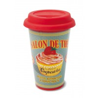 "Mug de voyage isotherme "" Lady Cupcake "" Natives"
