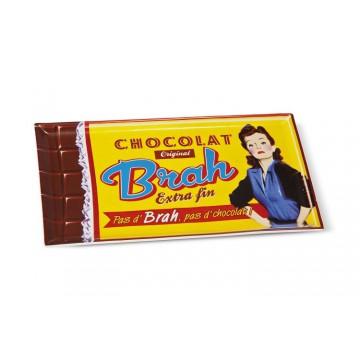 """Plat à Cake en céramique """" Chocolat Brah """" Natives déco rétro et vintage"""