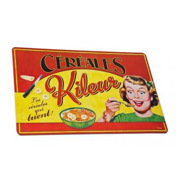 """Set de Table """" Céréales Kileur """" Natives déco rétro vintage"""