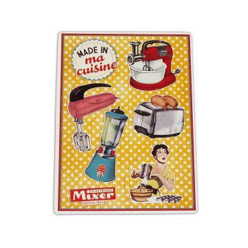 "Petits Magnets Deco "" Made in ma Cuisine "" Native déco rétro vintage"