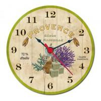 Mini horloge magnétique Provence Savon de Marseille