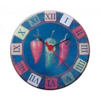 Mini horloge magnétique déco 3 Piments