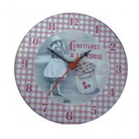Mini horloge magnétique délices du terroir