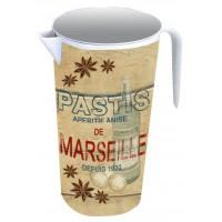 """Pichet broc """" Pastis de Marseille """""""