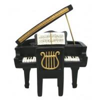 Boîte à musique piano à queue petit modèle déco rétro music collection