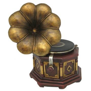 Boîte à musique Gramophone rétro music collection