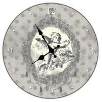 """Horloge """" Ange Chérubin """" déco rétro"""