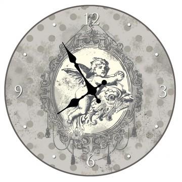 """Horloge """" Ange Chérubin """" déco rétro collection"""