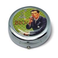 """Cendrier de poche """" Je fume Bio """" Natives déco rétro et vintage"""