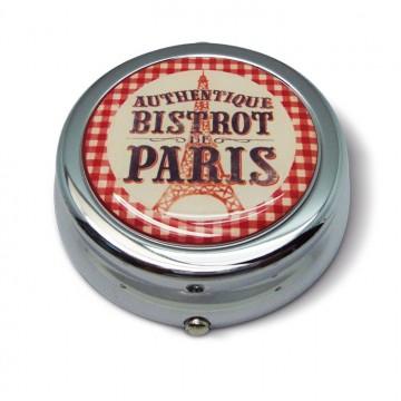 """Cendrier de poche """" Bistrot de Paris """" Natives déco rétro"""