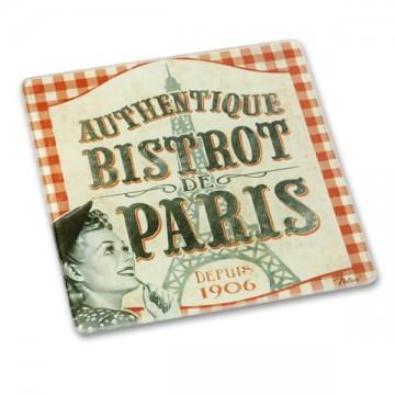 """Dessous de Plat """" Bistrot de Paris """" déco rétro et vintage Natives"""