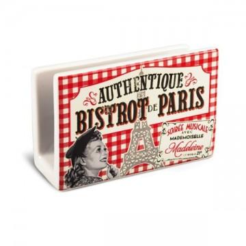 Range éponge Bistrot de Paris déco rétro vintage Natives
