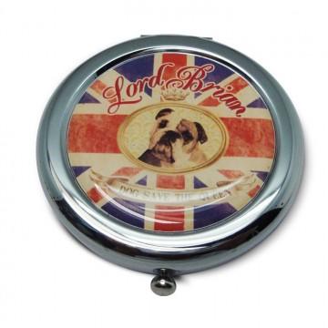 Miroir de poche LORD BRIAN ENGLISH PUB Natives déco rétro et vintage