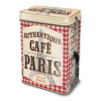 """Boîte à café """" Café de Paris """" Natives déco rétro et vintage"""