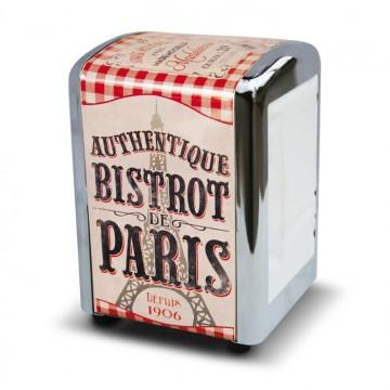 distributeur de serviettes BISTROT DE PARIS déco rétro vintage Natives