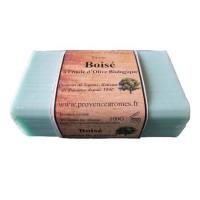 Savon Boisé à l'huile d'olive Bio de Provence Arômes