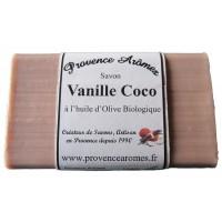 Savon vanille coco de Provence Arômes