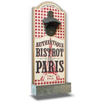 """Décapsuleur """" Bistrot de Paris """" Natives déco rétro vintage"""