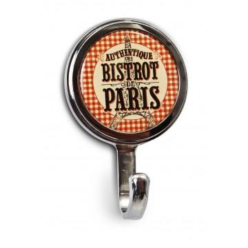 """Mini Patère """" Bistrot de Paris """" Natives déco rétro vintage"""