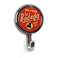 """Mini-Patère magnet ou vis """" Bodéga """" Natives déco rétro vintage"""