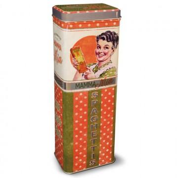 Boîte à spaghettis Natives Mamma Mia déco rétro et vintage