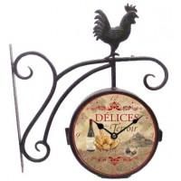 """Horloge de gare """" Délice du Terroir """""""