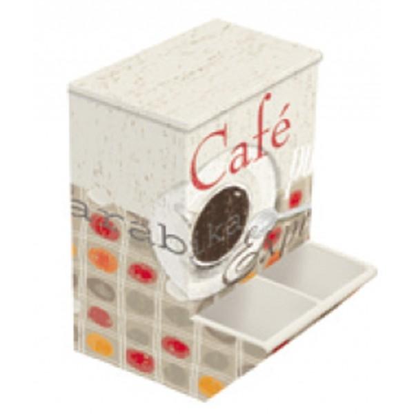 Bo te distributeur de dosettes ou capsules caf gourmand provence ar mes te - Tiroir distributeur de dosettes ...