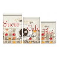 """Set de 3 boîtes """"Café gourmand """""""
