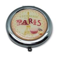 """Miroir de poche """" Pâtisserie de Paris """" Natives déco rétro et vintage"""