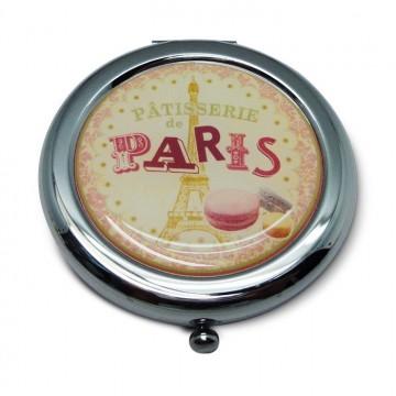 Miroir de poche Pâtisserie de Paris Natives déco rétro et vintage