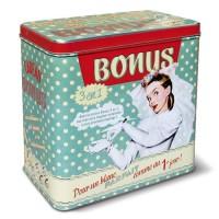 Boîte à lessive BONUS Natives déco rétro et vintage