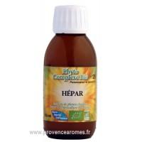 N° 28 - HÉPAR - Complexe de plantes BIO pour stimuler foie et vésicule biliaire