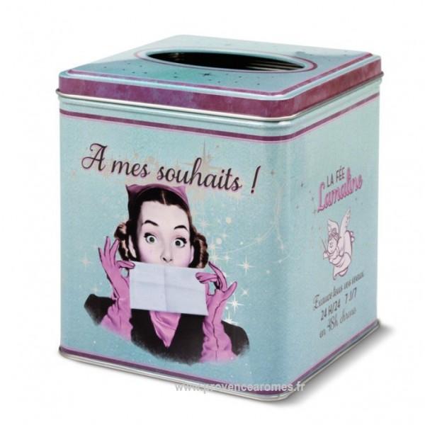 Bo te mouchoirs a mes souhaits natives d co r tro et - Deco boite a mouchoir ...