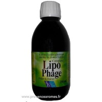 LIPOPHAGE complexe de plantes bruleur de graisse et cholestérol