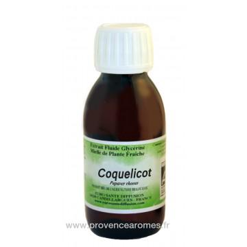 COQUELICOT BIO Extrait fluide Glycériné miellé Phytofrance Euro Santé Diffusion