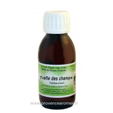 TREFLE DES CHAMPS BIO Extrait fluide Glycériné miellé Phytofrance Euro Santé Diffusion