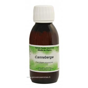 CANNEBERGE - Cranberry - Extrait fluide Glycériné miellé Phytofrance Euro Santé Diffusion