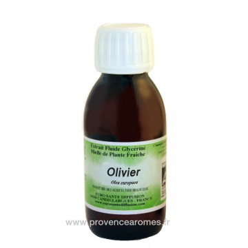 OLIVIER BIO Extrait fluide Glycériné miellé Phytofrance Euro Santé Diffusion