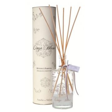 Grand Parfum à Bâtons LINGE BLANC Amélie et Mélanie Lothantique collection