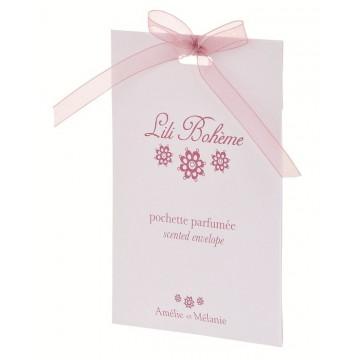Pochette parfumée LILI BOHÈME Amélie et Mélanie Lothantique