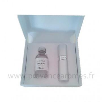 Coffret cadeau parfum de Sac MUSC BLANC lothantique