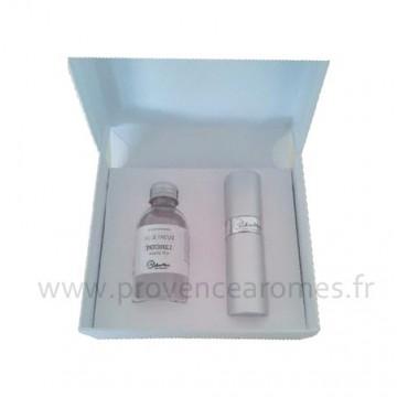 Coffret cadeau Vaporisateur parfum de Sac PATCHOULI Lothantique