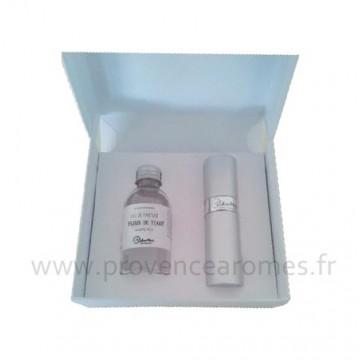 Coffret cadeau parfum de sac FLEUR DE TIARÉ lothantique
