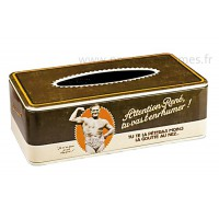 Boîte à mouchoirs SLIP D'OR Natives déco rétro et vintage