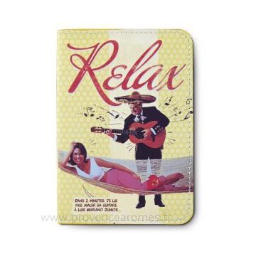 Protège passeport RELAX Natives déco rétro vintage