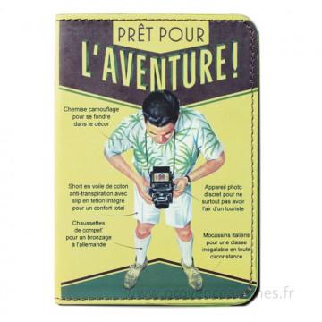 Protège passeport L'Aventure Natives déco rétro vintage