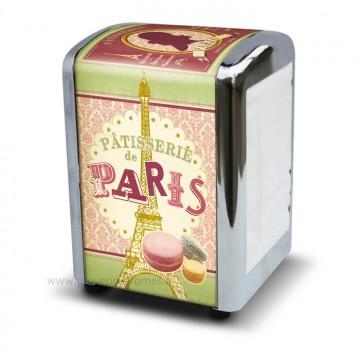 Distributeur de serviettes Pâtisserie de Paris déco rétro vintage Natives